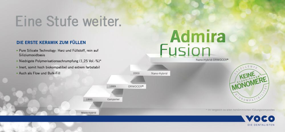 Admira Fusion - Eine Stufe weiter.