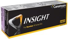 Kodak Insight ClinAsept 3,1 x 4,1cm IP21C (Carestream Health)