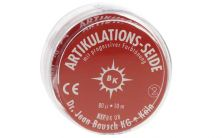 Artikulationsseide 16mm rot Rolle (Bausch)