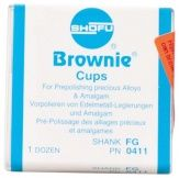 Brownie® Schaft FG - Kelch  , 12er (Shofu Dental)