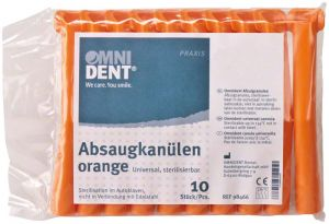 Absaugkanülen orange (Omnident)